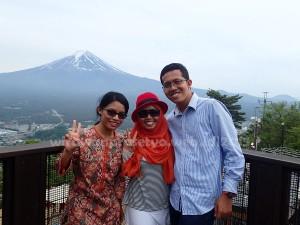 Kachi kachi Rope Kawaguchiko Japan | Melihat Gunung Fuji dari Kawaguchiko | Dipoto oleh wisatawan dari Indonesia juga loh